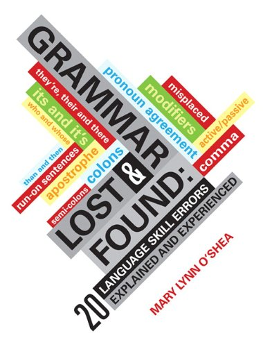 Grammar Lost and Found   2012 9780132155625 Front Cover