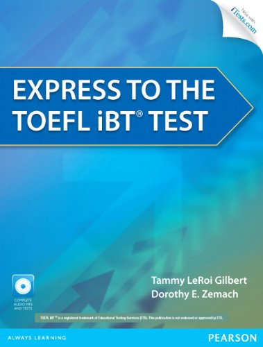 Express to the Toefl Ibt� Test   2013 edition cover