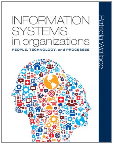 Information Systems in Organizations People, Technology, and Processes  2013 edition cover
