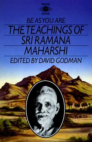 Be As You Are The Teachings of Sri Ramana Maharshi  1985 edition cover