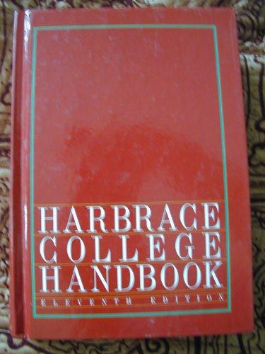 Harbrace College Handbook 11th edition cover