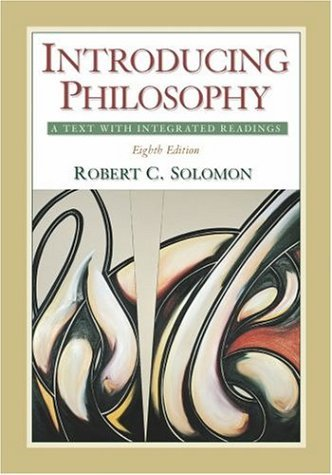Introducing Philosophy A Text with Integrated Readings 8th 2004 (Revised) edition cover