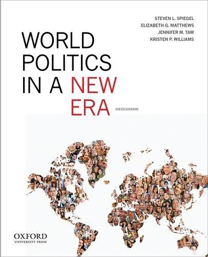 World Politics in a New Era:   2013 edition cover