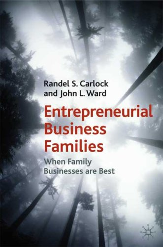 When Family Businesses Are Best The Parallel Planning Process for Family Harmony and Business Success  2010 edition cover