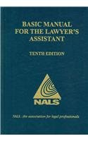 Nals Basic Manual for the Lawyer's Assistant:  2009 edition cover
