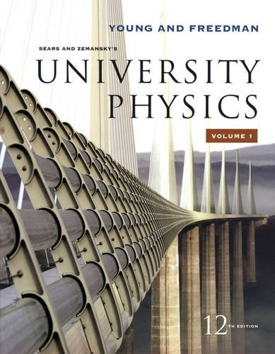 University Physics Vol 1 (Chapters 1-20)  12th 2008 edition cover