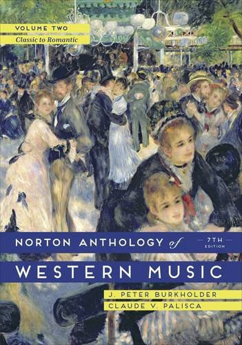 The Norton Anthology of Western Music:   2014 9780393921625 Front Cover