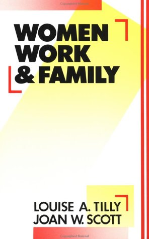 Women, Work and Family   1987 edition cover
