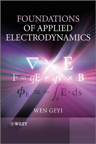 Foundations of Applied Electrodynamics  2nd 2010 9780470688625 Front Cover