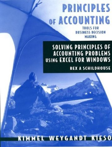 Principles of Accounting: Excel Workbook and Templates 1st 2004 9780471652625 Front Cover