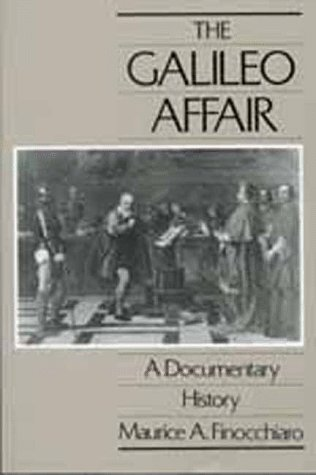 Galileo Affair A Documentary History  1989 edition cover