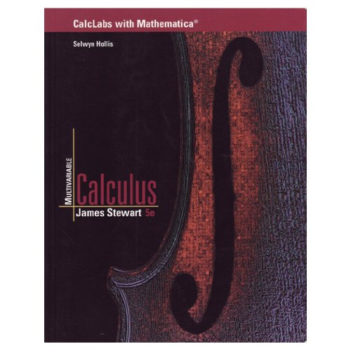 Multivariable Calculus  5th 2003 9780534393625 Front Cover