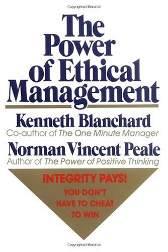 Power of Ethical Management   1988 edition cover
