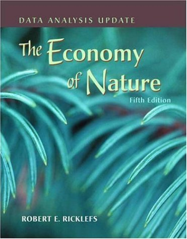 Economy of Nature  5th 2007 (Revised) edition cover