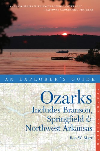 Ozarks 2nd Edition Includes Branson Springfield and Northwest Arkansas 2nd 9780881509625 Front Cover