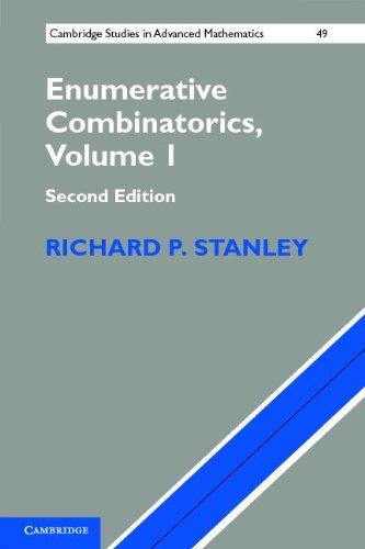 Enumerative Combinatorics: Volume 1  2nd 2011 edition cover