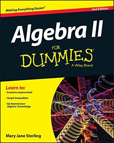 Algebra II for Dummies:   2015 edition cover