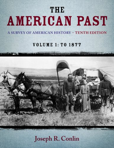 The American Past: A Survey of American History, to 1877 10th 2013 edition cover