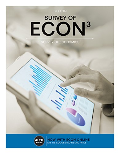Survey of ECON: With Online, 6 Months Access Card  2016 edition cover