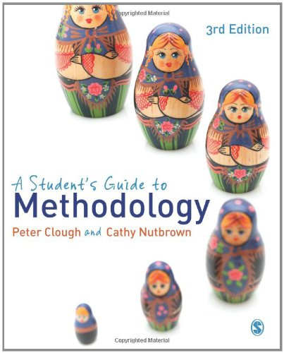 Student's Guide to Methodology  3rd 2012 edition cover