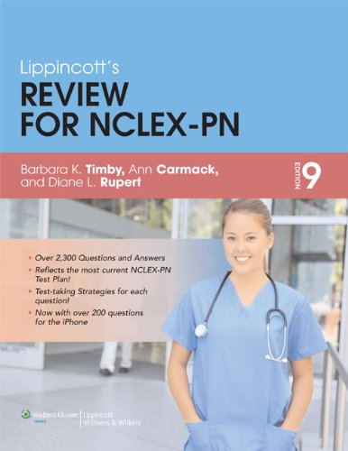 Lippincott's Review for NCLEX-PN  9th 2012 (Revised) edition cover