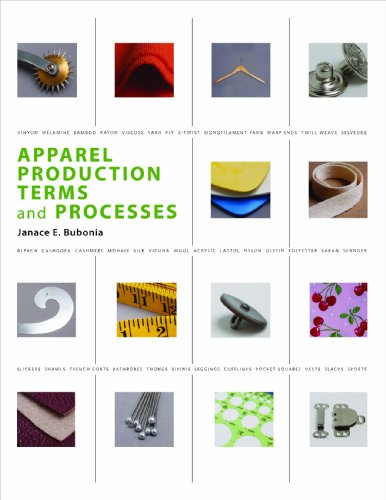 Apparel Production Terms and Processes   2011 edition cover