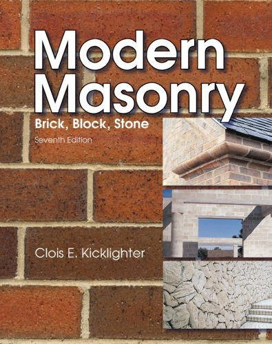 Modern Masonry 6th 2003 9781566379625 Front Cover