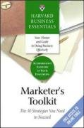 Marketer's Toolkit The 10 Strategies You Need to Succeed  2005 edition cover