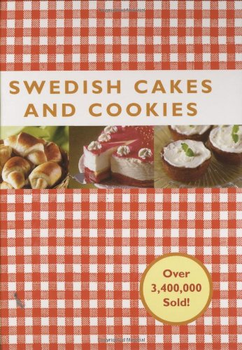 Swedish Cakes and Cookies   2008 edition cover