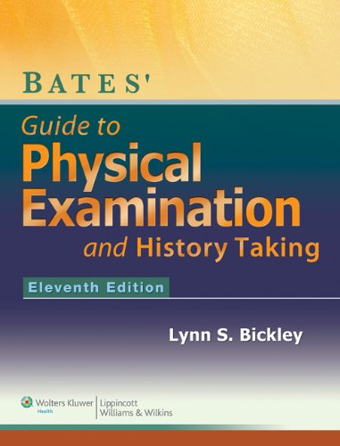 Guide to Physical Examination and History Taking  11th 2013 (Revised) 9781609137625 Front Cover