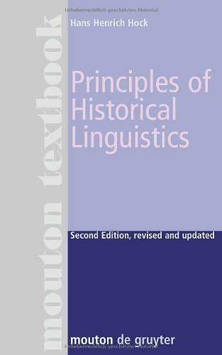 Principles of Historical Linguistics  2nd 1991 (Revised) edition cover