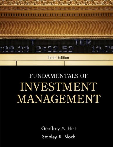 Fundamentals of Investment Management  10th 2012 edition cover