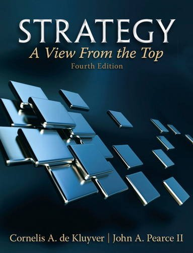 Strategy A View from the Top 4th 2012 (Revised) edition cover