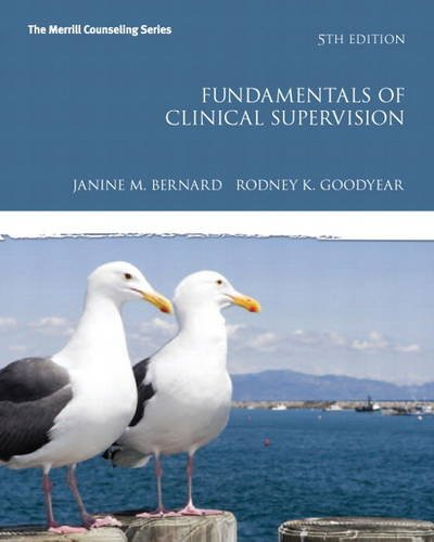 Fundamentals of Clinical Supervision  5th 2014 edition cover