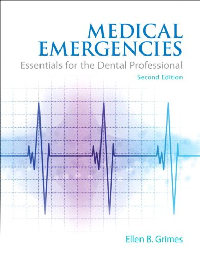 Medical Emergencies Essentials for the Dental Professional 2nd 2014 edition cover