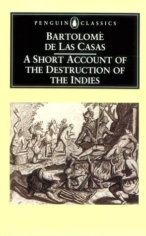 Short Account of the Destruction of the Indies   2004 edition cover