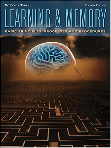 Learning and Memory  4th 2009 (Revised) edition cover