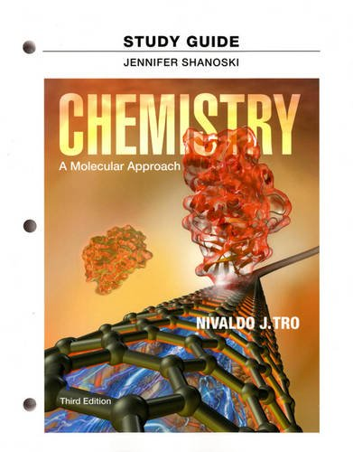 Study Guide for Chemistry A Molecular Approach 3rd 2014 edition cover
