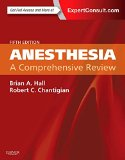 Anesthesia: a Comprehensive Review  5th 2015 edition cover