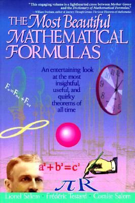 Most Beautiful Mathematical Formulas   1992 9780471176626 Front Cover