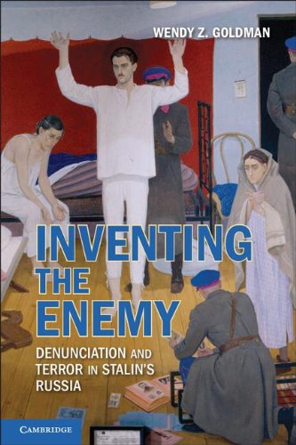Inventing the Enemy Denunciation and Terror in Stalin's Russia  2011 edition cover