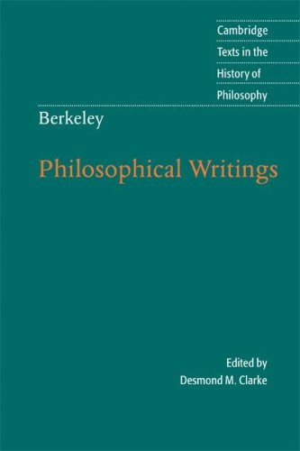 Berkeley: Philosophical Writings   2009 edition cover
