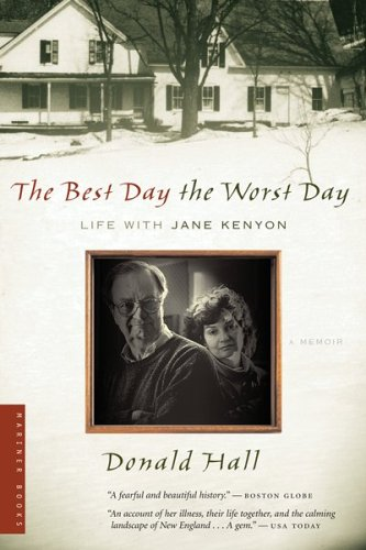 Best Day the Worst Day Life with Jane Kenyon  2005 edition cover