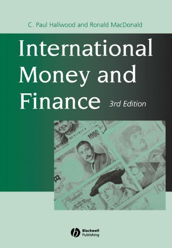 International Money and Finance  3rd 2000 (Revised) edition cover