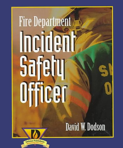 Fire Department Incident Safety Officer  1st 1999 edition cover