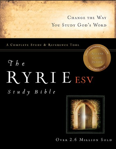 Ryrie ESV Study Bible   2011 edition cover