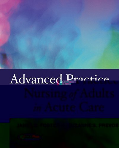 Advanced Practice Nursing of Adults in Acute Care   2012 edition cover