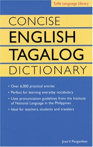 Concise English Tagalog Dictionary  N/A edition cover
