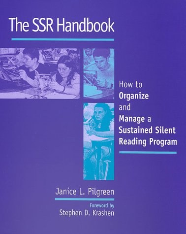 SSR Handbook How to Organize and Manage a Sustained Silent Reading Program  2000 edition cover