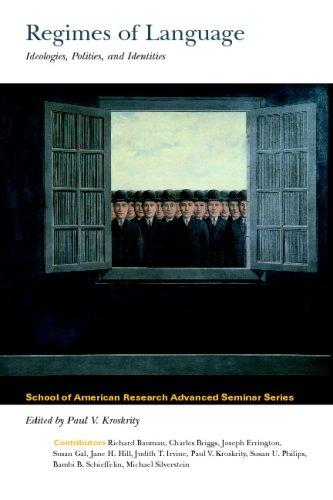 Regimes of Language Ideologies, Politics, Identities  2000 edition cover